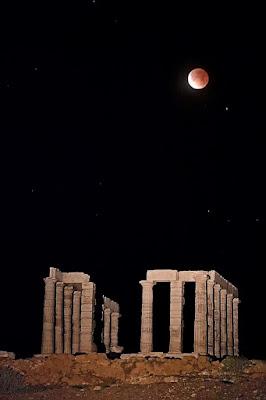 Eclipse en el Templo de Poseidón