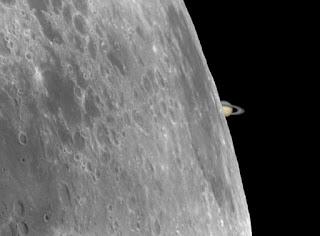 Ocultación de Saturno por la Luna 22/05/2007 VI