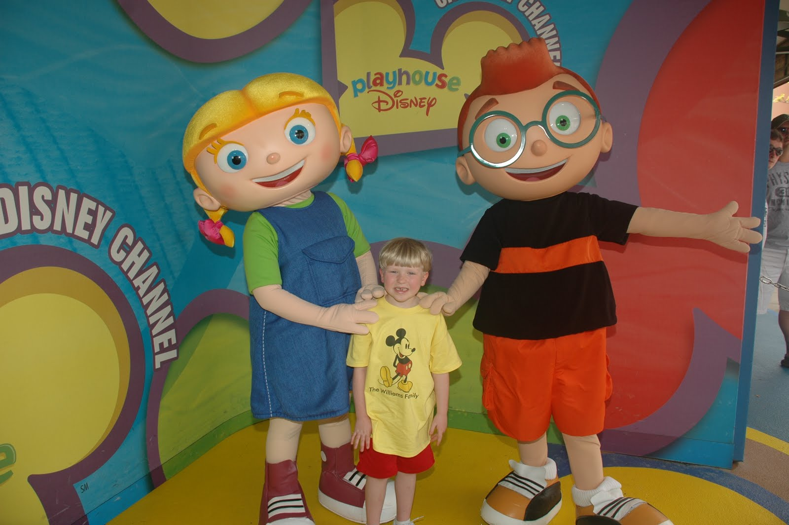 Uncategorized Little Einsteins Playhouse Disney williams family meeting the characters from playhouse disney disney
