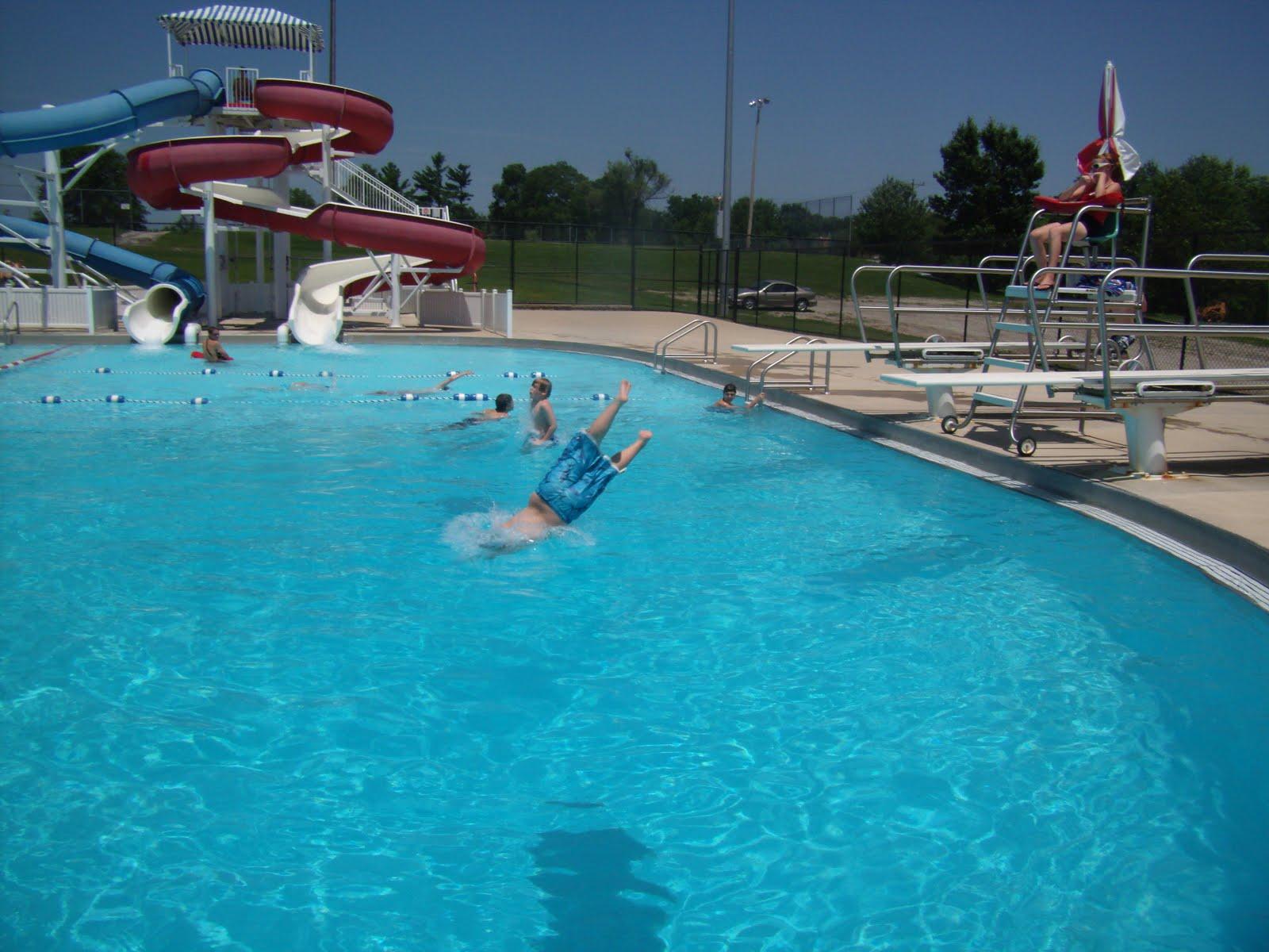 Williams Family Edmundson Park Swimming Pool In Oskaloosa