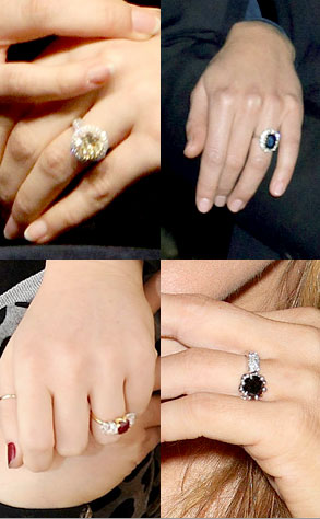 Ashlee Simpson flashes her 5carat engagement ring in