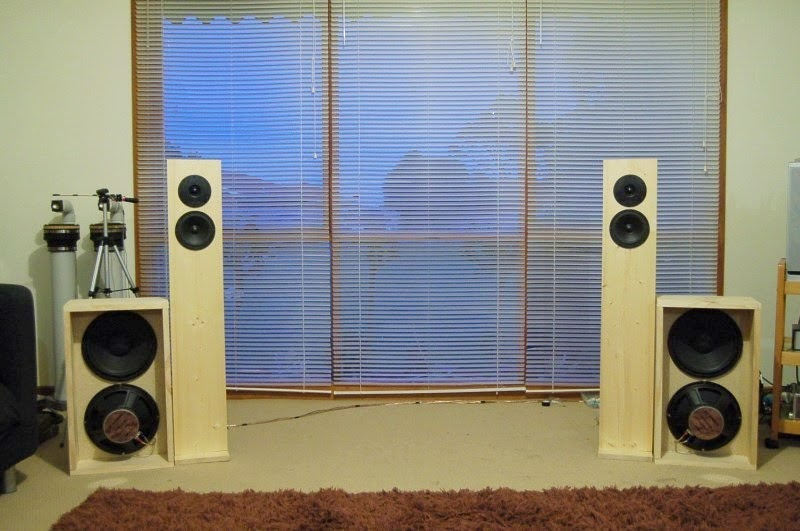 Gainphile: S9 Open Baffle Speakers