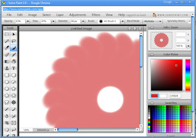 sumopaint-online painting software