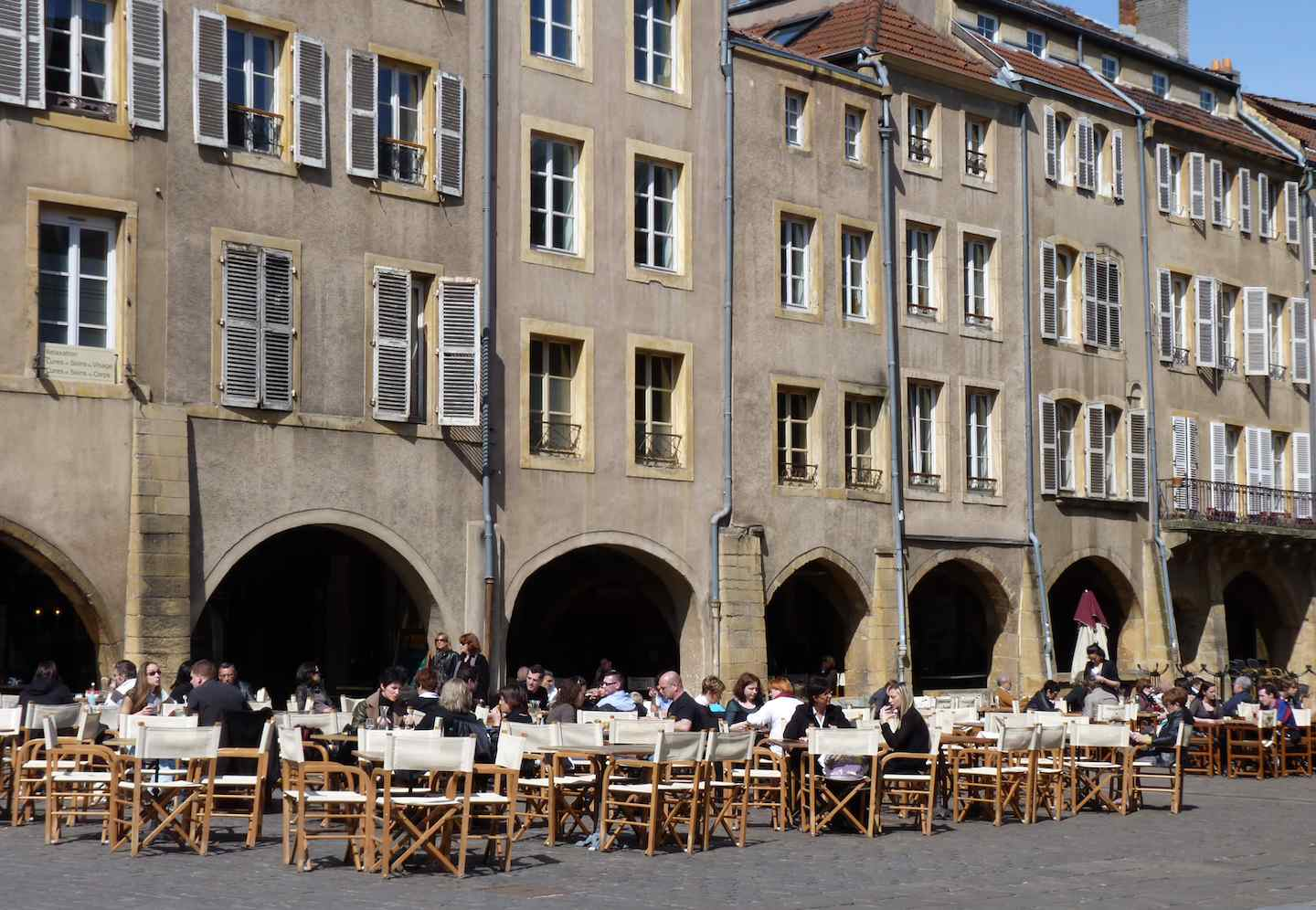 Dispatch from Metz: Great Squares of Metz