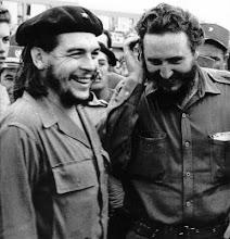 Guevara e Fidel Castro