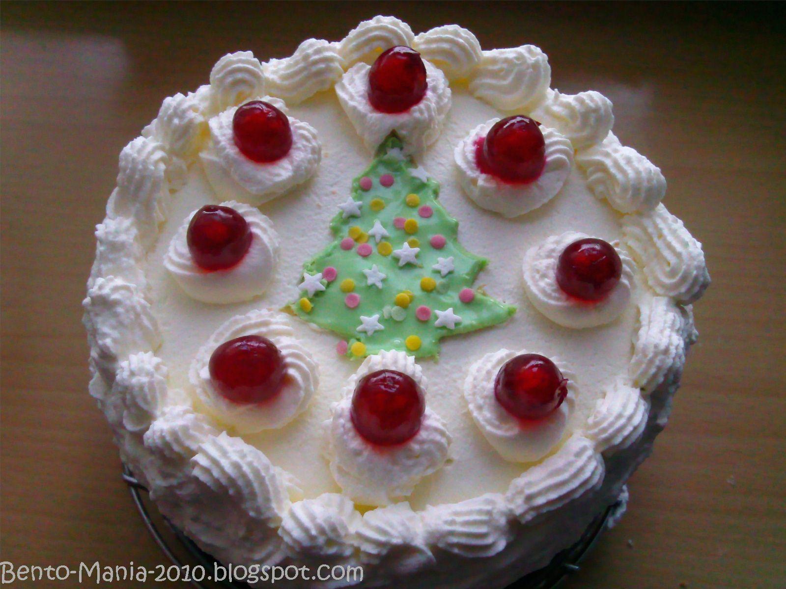 Christmas Marzipan Cake