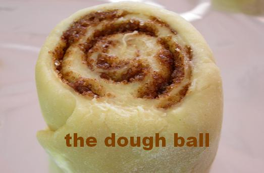 the dough ball