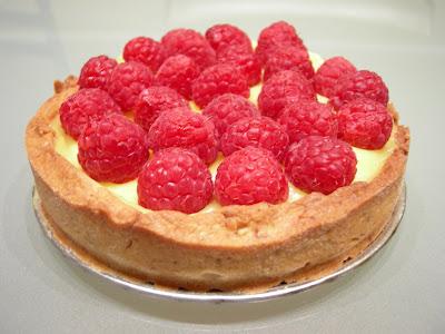 the dough ball: Raspberry Lemon Tart for Sugar High Friday