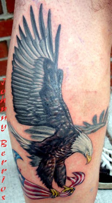 Below are some meanings that eagle tattoo designs stand for:
