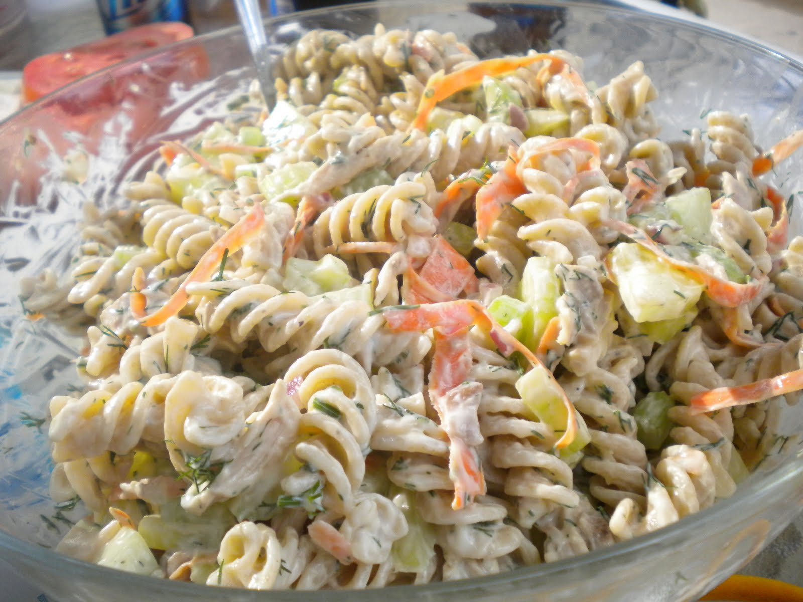 Creamy noodle recipe chicken domestic pasta creamy network recipe creamy salad salad and food recipe whole pasta wheat forumfinder Images