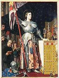 Ste. Jeanne d'Arc priez pour nous