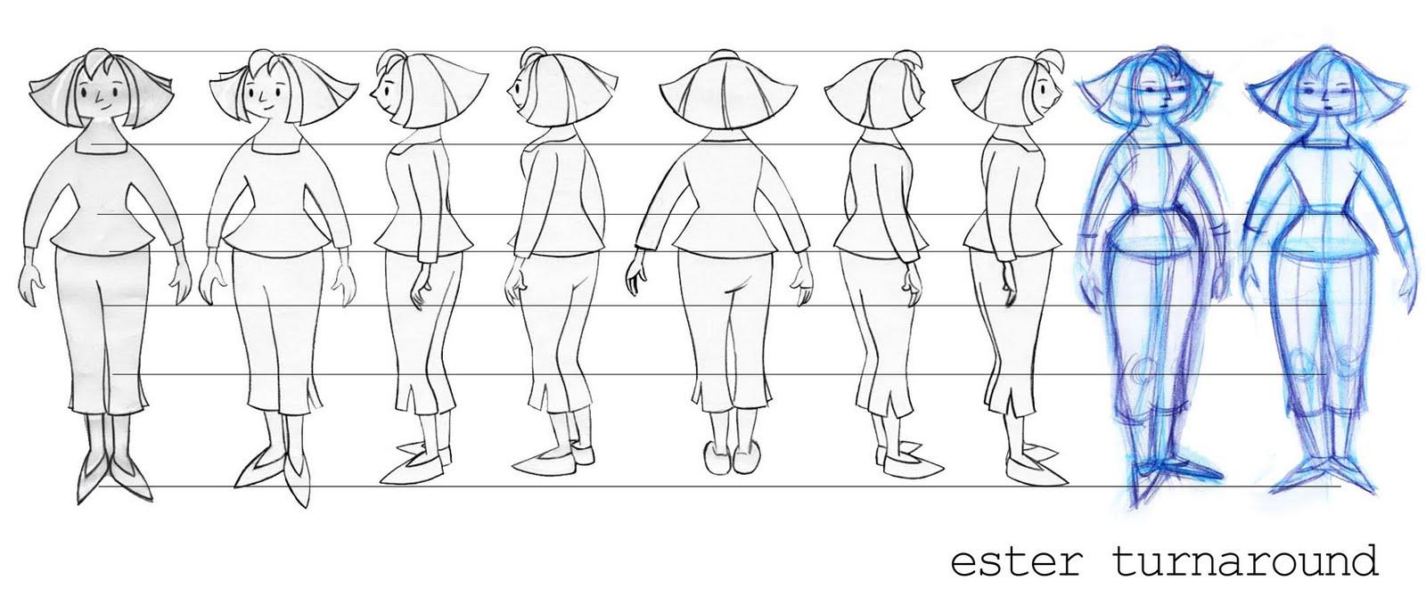 Cartoon Character Design Sheet : Cartoon character turnaround sheets sex porn images