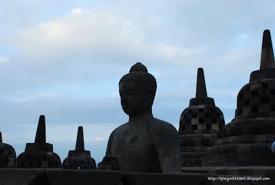 Stupa, Borobudur