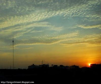 Yogyakarta Sunrise