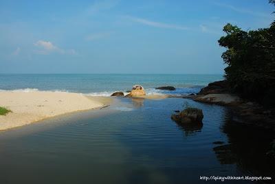 Pantai Kerachut Meromictic Lake