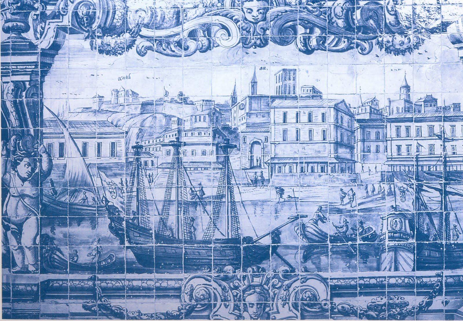 Espa o e mem ria tesouros do museu nacional do azulejo ao - Imagenes de azulejos ...