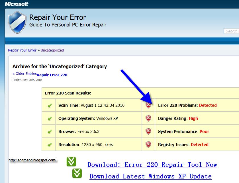 how to fix error 219
