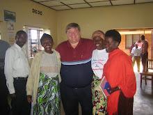 Retreat in Cyangugu, Rwanda