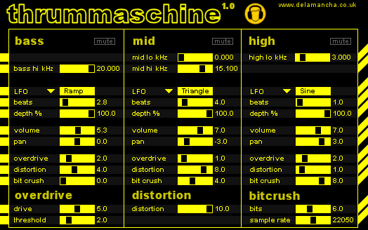 Thrummaschine VST plug-in
