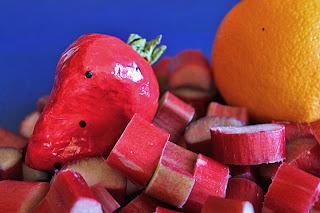 Strawberry Rhubarb Orange Jam - Hitchhiking to Heaven