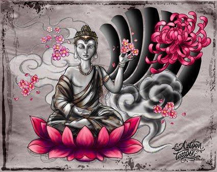 Buda Dragon By Diego Tattoo Buda Sketch Tattoo. Publicado por Aztoon Tattoo