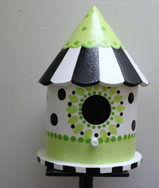 Scrap Your World Birdhouses