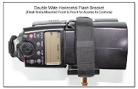 PJ1013: Double Wide Horizontal Flash Bracket