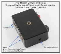 PT1026: Pre-Trigger Control Box 1 x 2- Disconnect Switch, Manual Tripper, Dual Input (2 wire, 3 wire), Dual Output