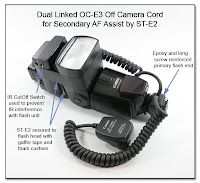 DF1009: Dual Linked OC-E3 for 2nd AF Assist