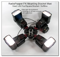 CP1029: RadioPopper PX Mounting Bracket Mod - Used with FourSquare Bracket (all 4 units fired correctly)