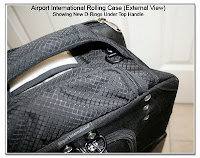 CP1103: Airport International (ThinkTankPhoto.com) Rolling Bag with New Custom Brackets to Convert to Backback - External View