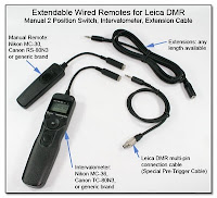 SC1017b: Extendable Wired Remote for Leica DMR