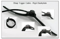 LT1004B: Strap Trigger Cable - Rigid Backplate