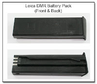 SC1059: Leica DMR Battery Pack Rebuilt (Front and Back Views)
