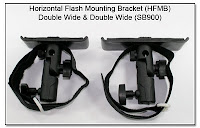 PJ1011, PJ1011-SB900: Horizontal Flash Mounting Bracket (HFMB) Double Wide & Double Wide for SB900