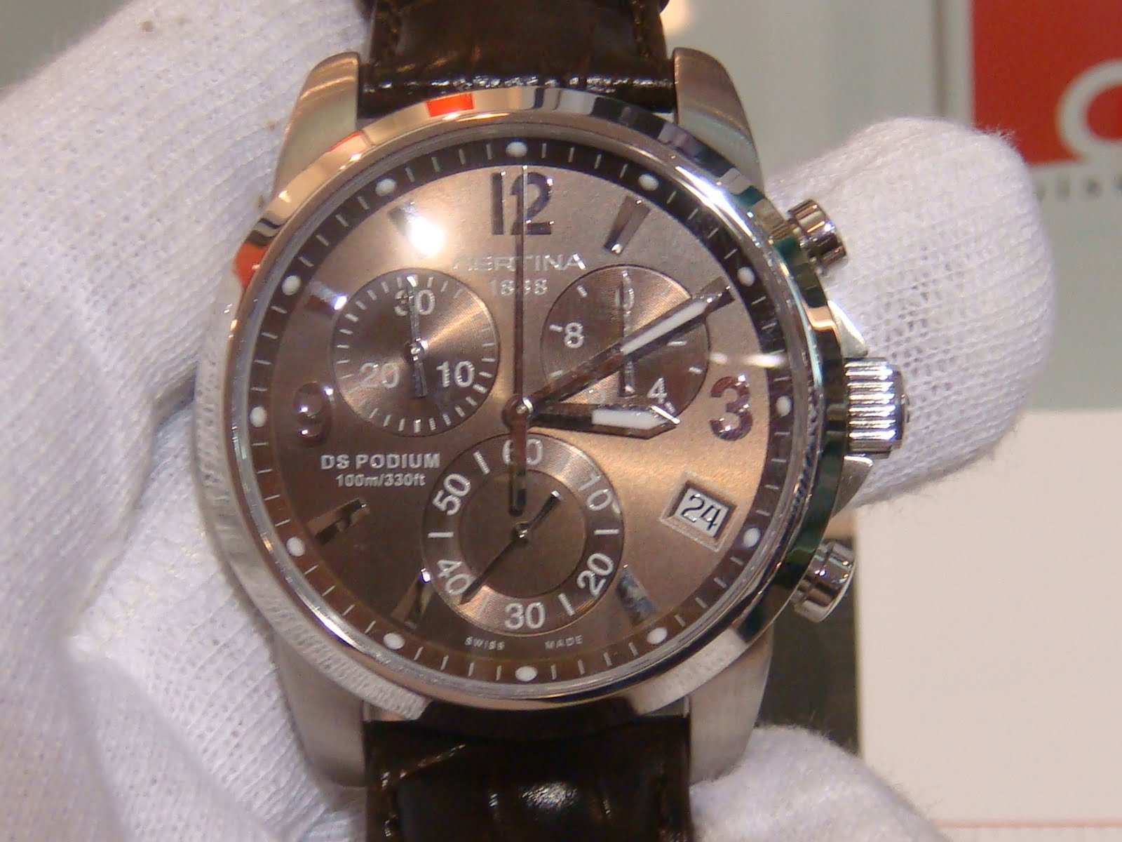 This is my today's recommendation: The Certina DS-1 ...