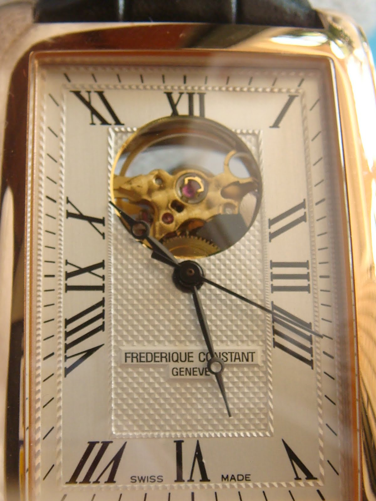 how to open back of watch frederique constant