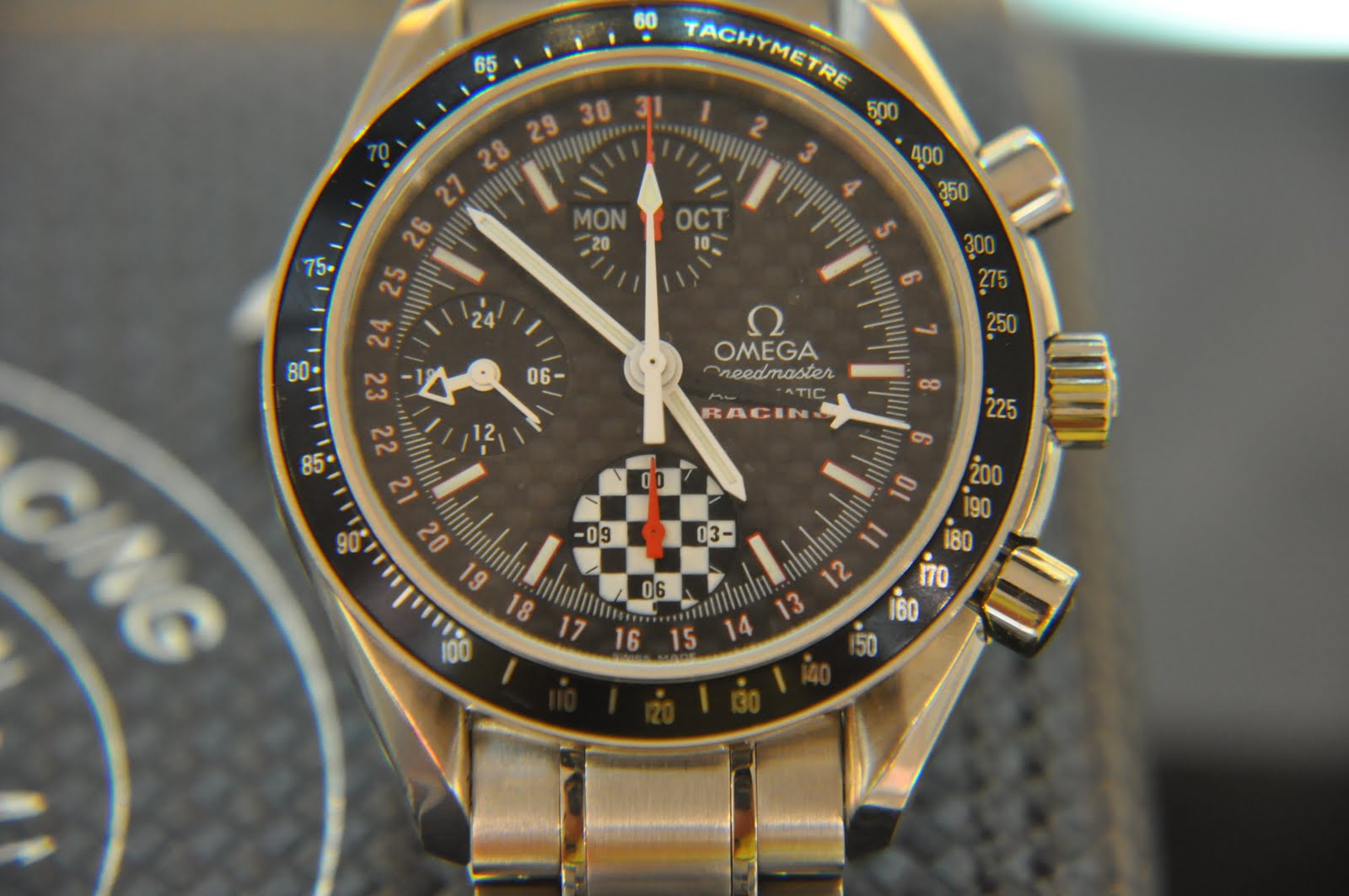 LT Watch Gallery: 230. PREOWNED OMEGA SPEEDMASTER RACING ...