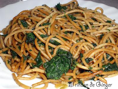 Aprendiendo a cocinar espaguetis con espinacas for Cocinar espinacas