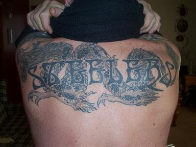 Upper Back Dragon Tattoo