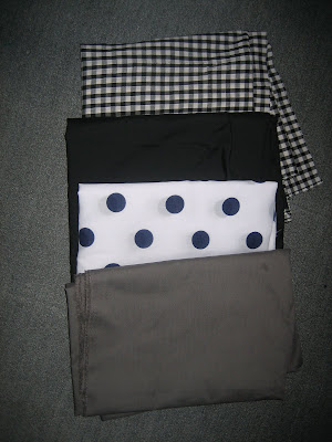 fabric, polka dot, stash