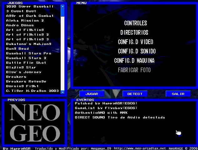 descargar neo geo gratis para pc en espanol completo