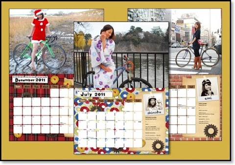 Love Wheels Nagoya - 2011 Bicycle Calendar
