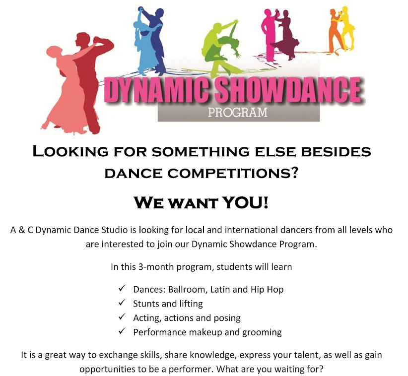 Dynamic Showdance Program