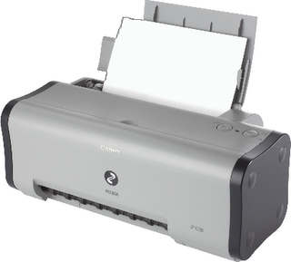Mereset Printer Canon IP1000 :