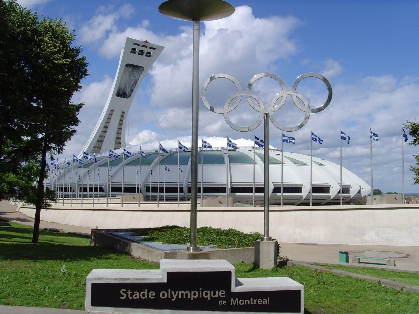 Je me souviens le stade olympique de montreal - Piscine du stade olympique ...