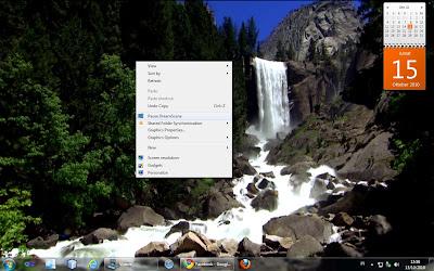 Dreamscene in Windows 7