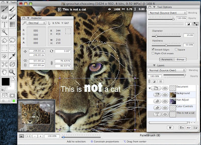 ChocoFlop - Free Image Editor Software