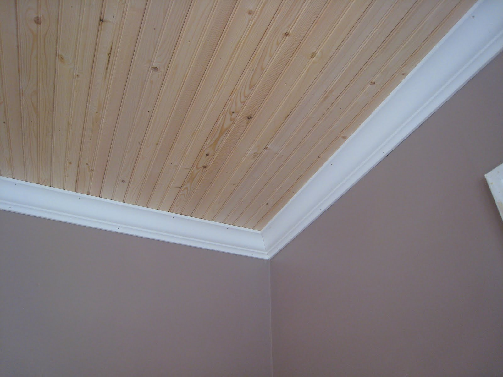 Life At The Little Brick House Bathroom Ceiling Trim
