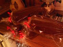Mjuka pepparkakor till julmarknad.